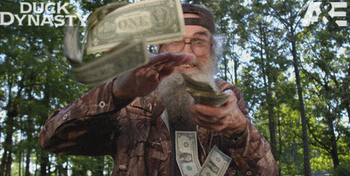 Uncle Si Making it Rain